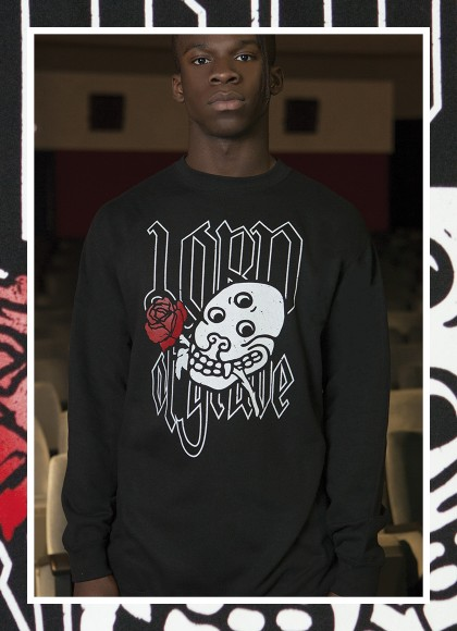 CREW NECK LORD OF GRAVE