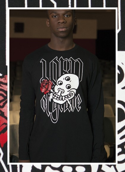 T- LONG SLEEVES LORD OF GRAVE