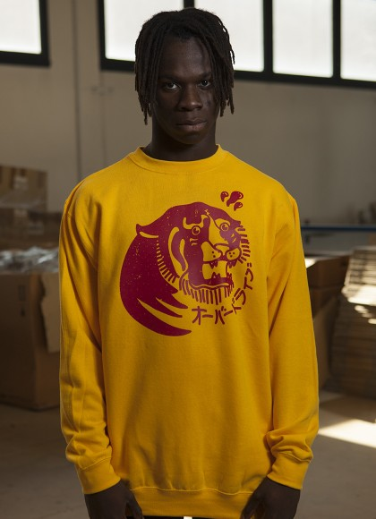 CREW NECK TIGER MAN FRONT